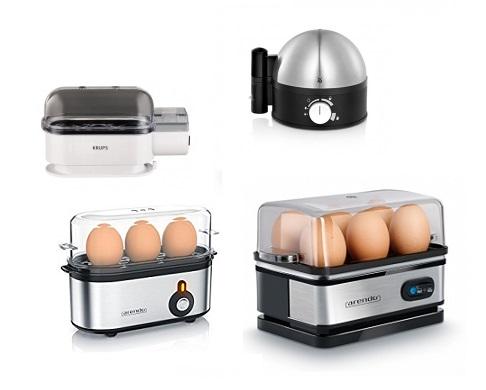 Auswahl an Eierkochern